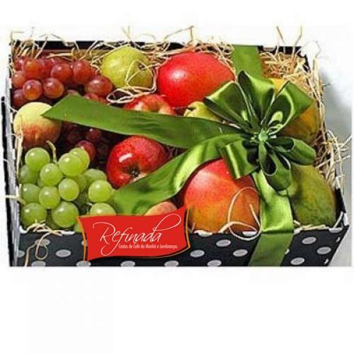 Cesta de Café da Manhã Caixa de Frutas R$ 159,00